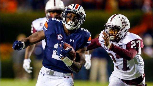 The Detroit Lions took running back Kerryon Johnson with the No. 43 overall pick on Friday. Free Press sports writer Ryan Ford takes a look at the pick: