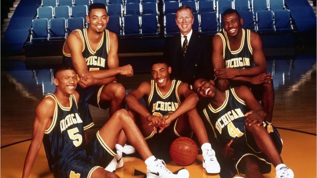 Looking back on Michigan's star-studded recruiting class of 1991 that shocked the world. Video by Ryan Ford/DFP