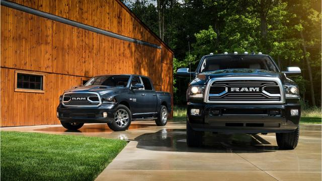 A fleet of hot Ram trucks has vanished from an Fiat Chrysler Automobiles assembly plant in Warren, Michigan.