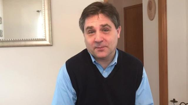 Republican gubernatorial candidate Sen. Patrick Colbeck, R-Canton, outlines his plan to improve Michigan's roads.