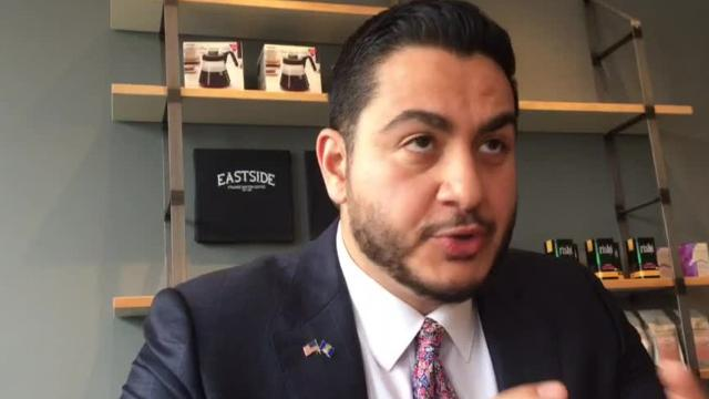 Democratic candidate for governor Abdul El-Sayed talks about his plans to fix Michigan's crumbling roads.