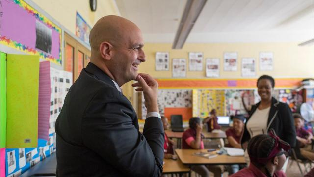 Nikolai Vitti is wrapping up his first year as the superintendent of the Detroit Public Schools Community District. His first year has seen a number of big changes in the district.