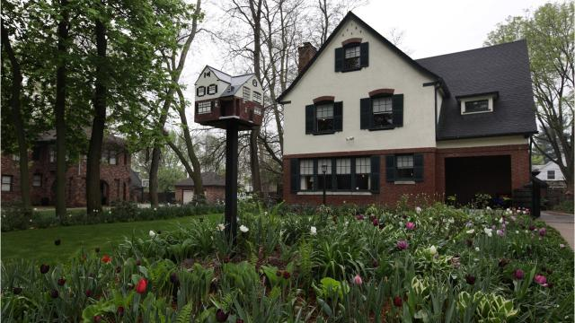 This 102-year-old house in Indian Village, a neighborhood on Detroit's east side known for stately, historic homes, looks fresh from a month at the spa. Actually, in home repair time, that month equals seven years.