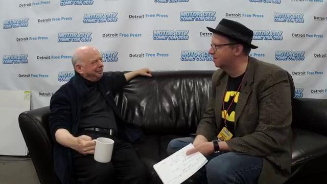 "Chatting with actor and ""The Princess Bride"" star Wallace Shawn at Motor City Comic Con on Sunday, May 20, 2018"