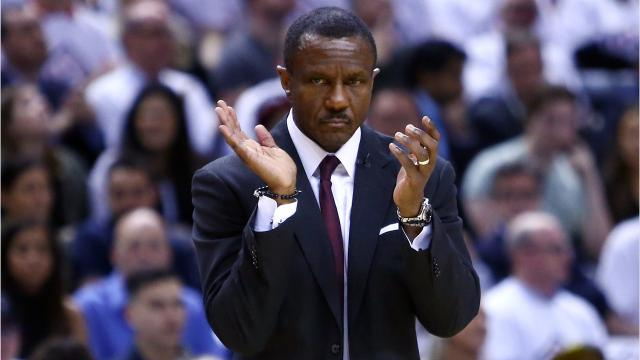 A quick look at the newest Pistons coach, Dwane Casey. Video by Ryan Ford, Detroit Free Press.