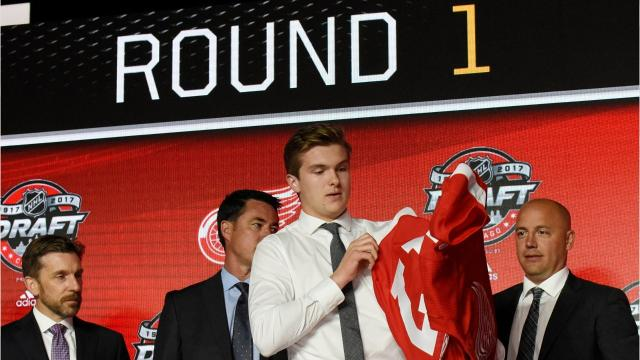 Looking back at the players the Detroit Red Wings have drafted in the top 10 since 1983. Video by Ryan Ford/DFP