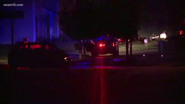 Four people stabbed or cut during a fight at overnight party in Kentwood.