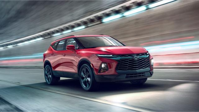 The Chevy Blazer will be a two-row SUV, taking on the Ford Edge, Nissan Murano and Jeep Grand Cherokee.