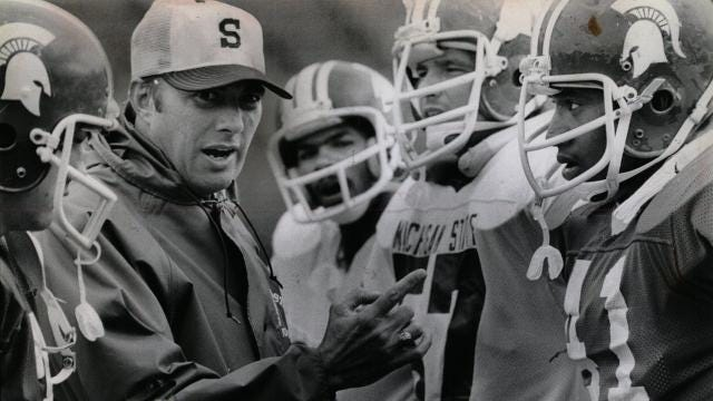 Looking back at the coaching career of Darryl Rogers, who won at Michigan State but struggled with the Detroit Lions. Video by Ryan Ford, Detroit Free Press.