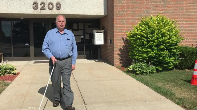 New voting equipment purchased by many Michigan counties, including Wayne, Oakland and Ingham, is difficult for blind people to use without help, advocates say.