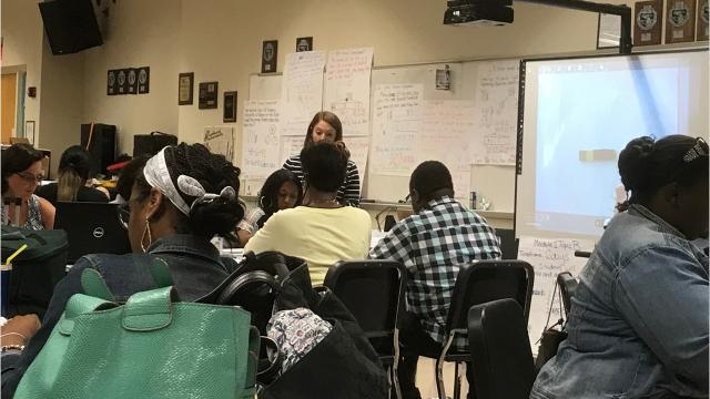 The Detroit Public Schools Community District has adopted new curriculum in math and English language arts in grades K-8, to address concerns the previous curriculum was subpar.