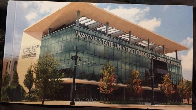 Wayne State cuts the ribbon on its new Mike Ilitch School of Business