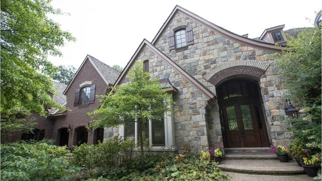 This Bloomfield Township home was the passion project of one of southeast Michigan's large luxury home builders,
