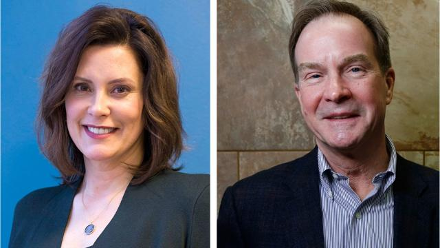 Polls give the edge to Democrat Gretchen Whitmer over Republican Bill Schuette in the Nov. 6 election for governor. There are several factors at play.