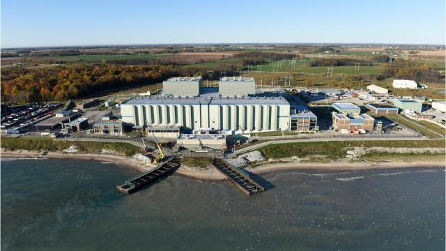 More than 60,000 tons of highly radioactive, spent nuclear fuel is stored on the shores of the Great Lakes, on both the U.S> and Canadian sides.