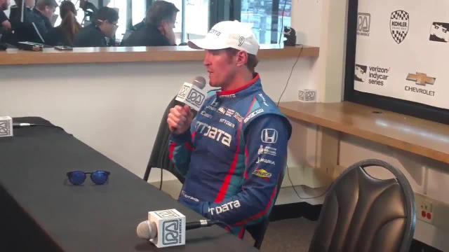 Scott Dixon talks about IndyCar win at Kohler Grand Prix