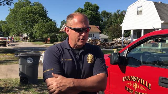 Lead Fire Investigator talks scene from explosion