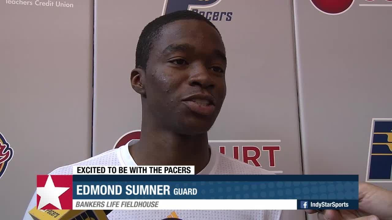 There's some new faces on the Pacers' roster