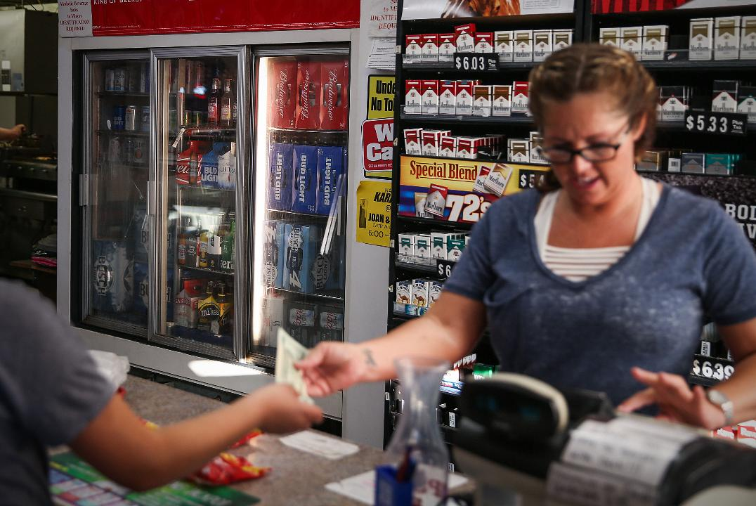 Joan and Yogi's One Stop convenience store outside of Terre Haute serves gas, food and cold beer and has karaoke nights.