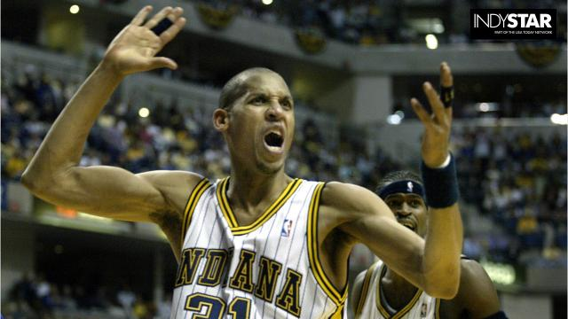 hot sale online 08f19 316bf Revisiting all the Pacers jerseys through the years