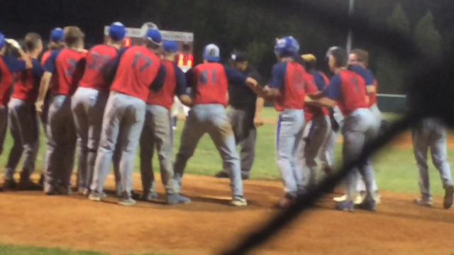 Aaron Euler hit a two-out pinch-hit walk-off home run Saturday to give the Henderson Flash an 8-7 win over the Muhlenberg County Stallions at B..T. Wayne Field