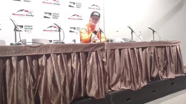 Josef Newgarden breaks down his win in Toronto