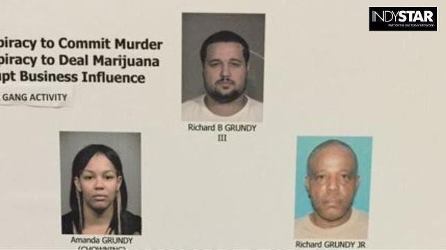 """The """"Grundy Crew"""" has been characterized in court documents as an Indianapolis drug-trafficking organization linked to marijuana smuggling and homicides. So far, however, its members have eluded long jail sentences."""