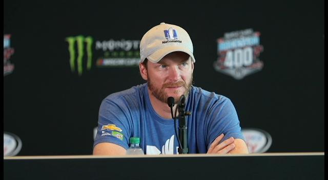 Dale Earnhardt Jr. talks about the Indianapolis Motor Speedway. (Matt Kryger/Indystar)