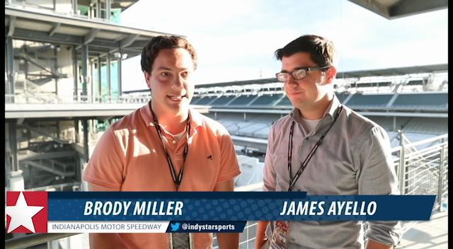 Racing Insiders James Ayello and Brody Miller talk Brickyard 400 and Xfinity race. (Matt Kryger/IndyStar)