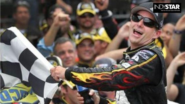Winners of the Brickyard 400 at Indianapolis Motor Speedway.