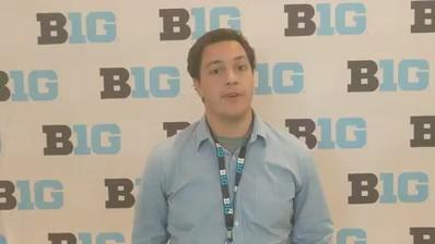 Tom Allen at his first Big Ten Media Day