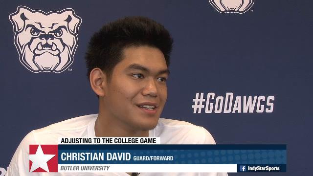 Meet Butler freshman Christian David