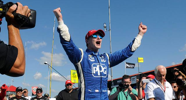 Insider: Newgarden goes back-to-back with win at Mid-Ohio