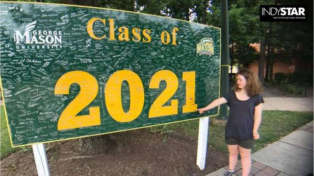 Watch the emotional moment this Zionsville grad receives her college acceptance