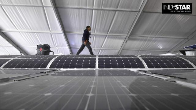 Four Hamilton County communities — Fishers, Carmel, Westfield and Noblesville — are encouraging residents and businesses to consider renewable energy options. They're holding free workshops where you can learn more.