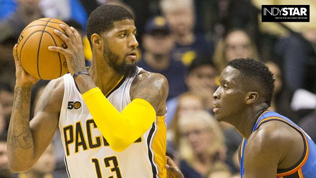 Visits from Paul George, Brad Stevens and Gordon Hayward and LeBron James highlight the schedule for the revamped Indiana Pacers.