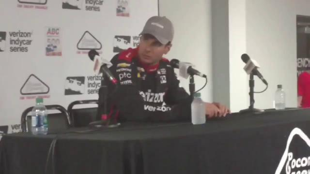 Will Power breaks down Pocono victory