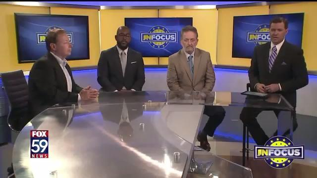 IndyStar staff members Robert King, Justin Mack and Tim Swarens joined Fox59's IN Focus TV show in the wake of the white supremacist rally in Charlottesville, Va.