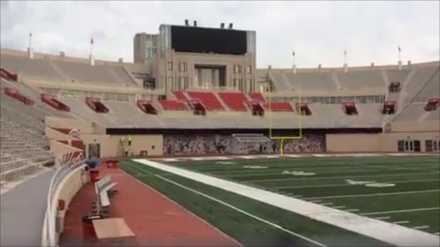 Fred Glass tour of Memorial Stadium renovations