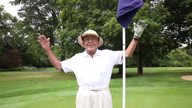 93-year-old Meridan Hills CC golfer hits hole-in-one