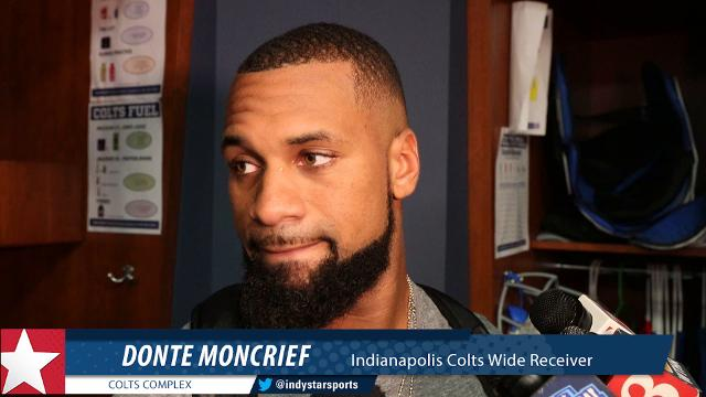 'He's a very good quarterback. He's smart.' Moncrief talks relationship with Brissett.