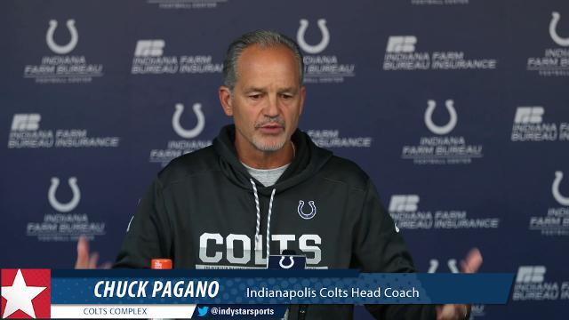 Colts coach talks about Week 2's narrow loss