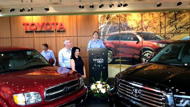 Toyota Celebrates 5 Millionth Vehicle Produced