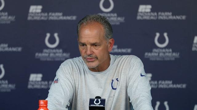 Pagano talks Browns, Colts running backs and Andrew Luck