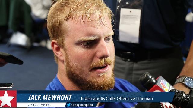 Colts lineman Jack Mewhort talks O-Line and Jacoby Brissett