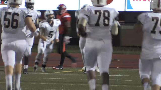 Highlights from the Harrison vs Central week 6 high school football game.