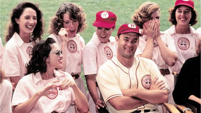 a league of their own characters