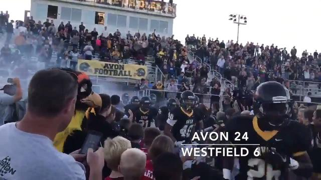 Friday Night highlights: Avon 24, Westfield 6