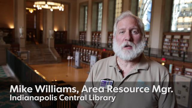 Indianapolis' Central Library celebrates one hundred years on Saturday, Oct. 7, 2017, from 11am-2pm.