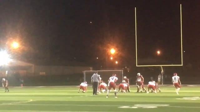 Friday Night Highlights: Danville 14, Western Boone 6